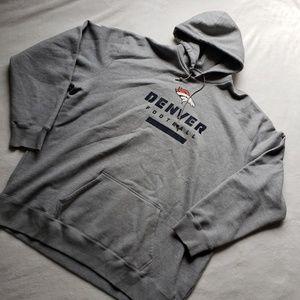 NWOT Nike Denver Broncos hooded sweatshirt BB